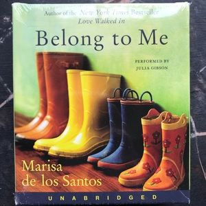Audio book, Belong to Me, by Maria de los Santos